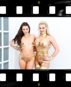 Gape Lovers 09, Scene 04 – Allie Haze and Phoenix Marie